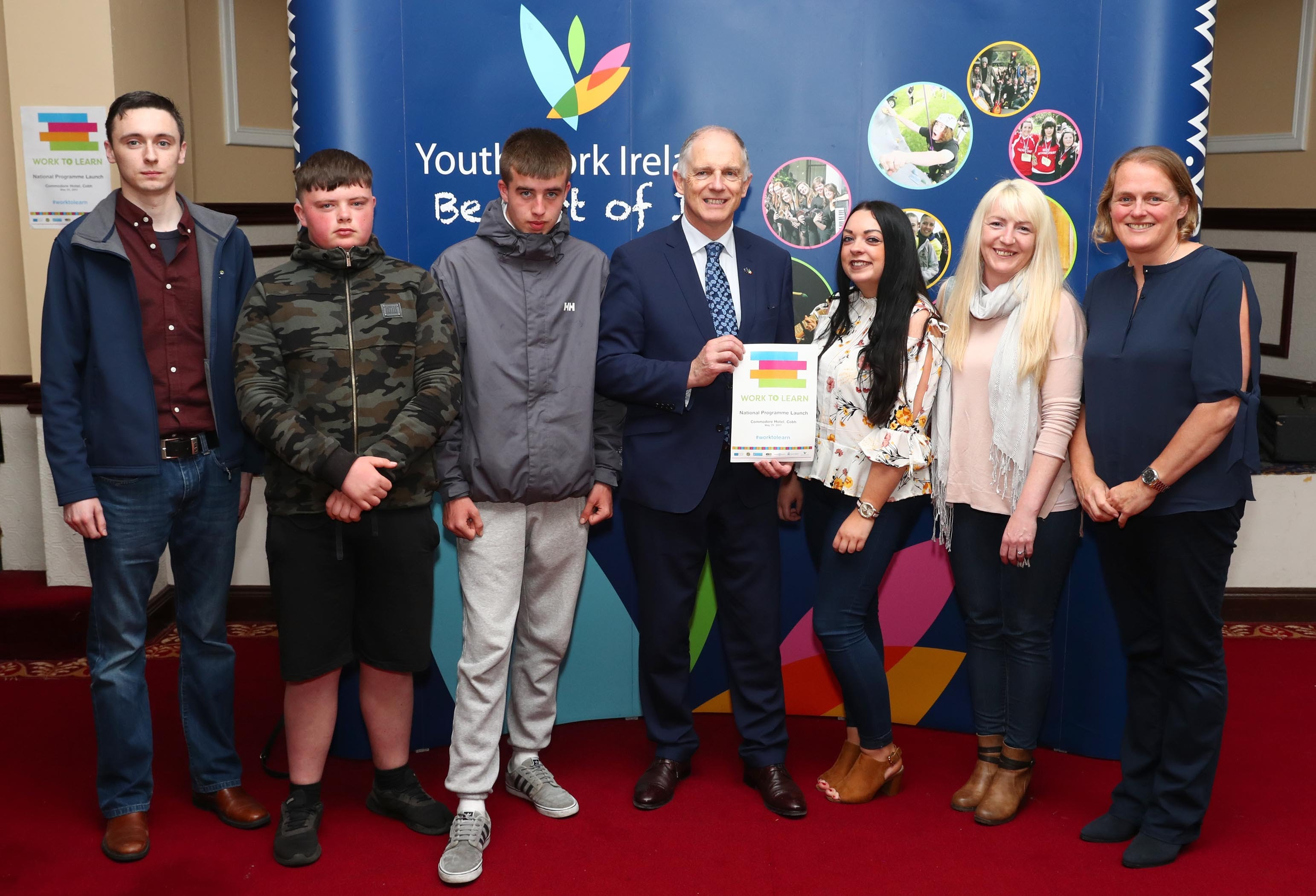 Some of the participants with Minister David Stanton TD